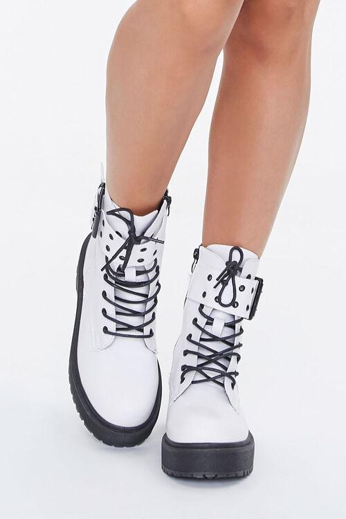 Buckled Platform Boots, image 4