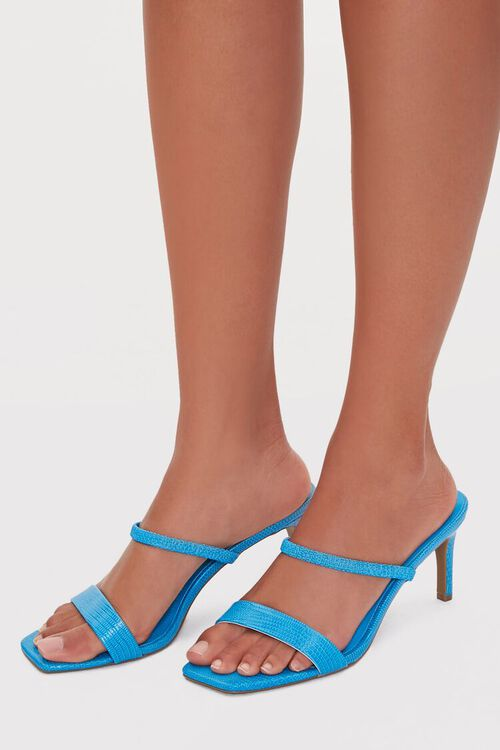 Square-Toe Stiletto Heels, image 1