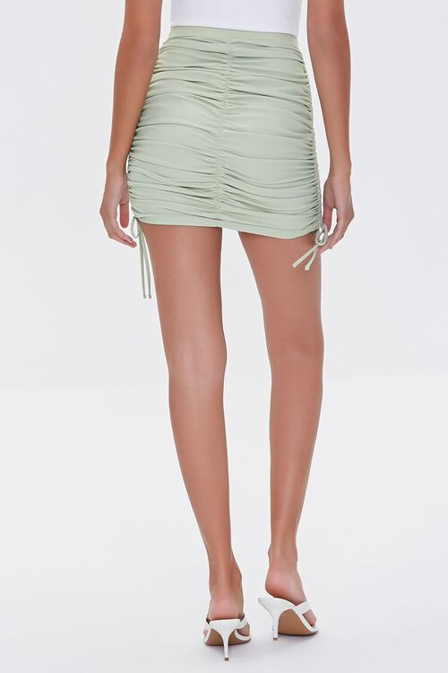 Ruched Bodycon Mini Skirt, image 4