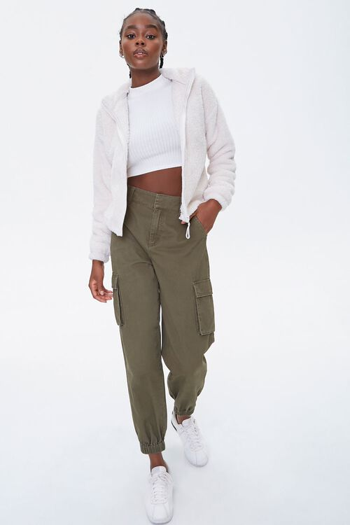 Plush Drop-Sleeve Jacket, image 4