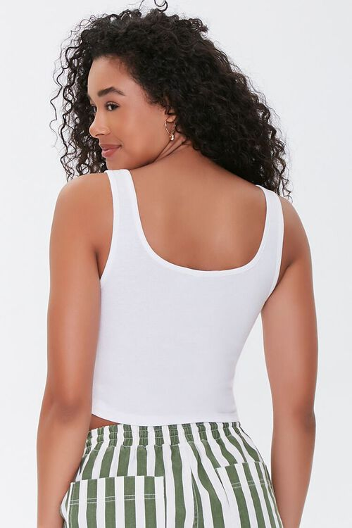 Seamed Cropped Tank Top, image 3