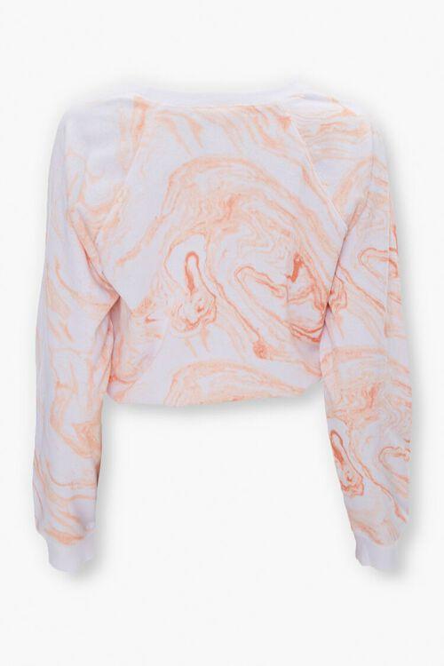 Active Marble Wash Drawstring Top, image 3