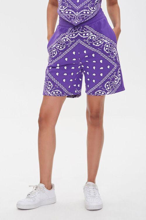 Ashley Walker Bandana Print Shorts, image 2