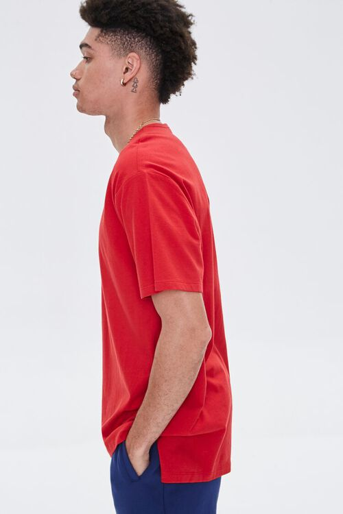 High-Low Crew Neck Tee, image 2