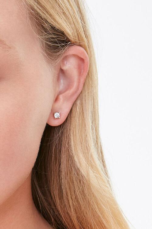 Faux Gem Necklace & Earring Set, image 2