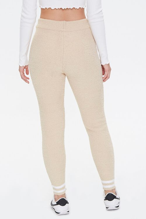Varsity-Striped Sweater-Knit Leggings, image 4