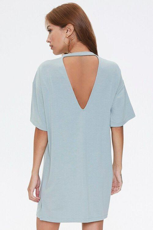 Cutout T-Shirt Dress, image 1