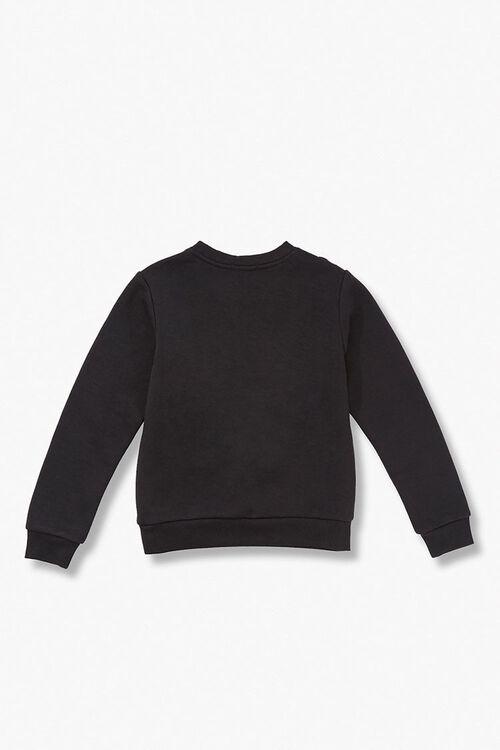 Girls Ruffled Eyelet Sweater  (Kids), image 2