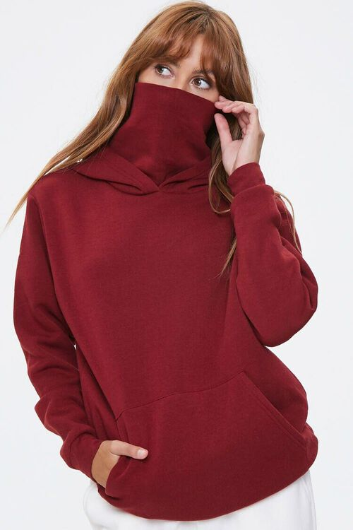 Face Mask Hoodie, image 1