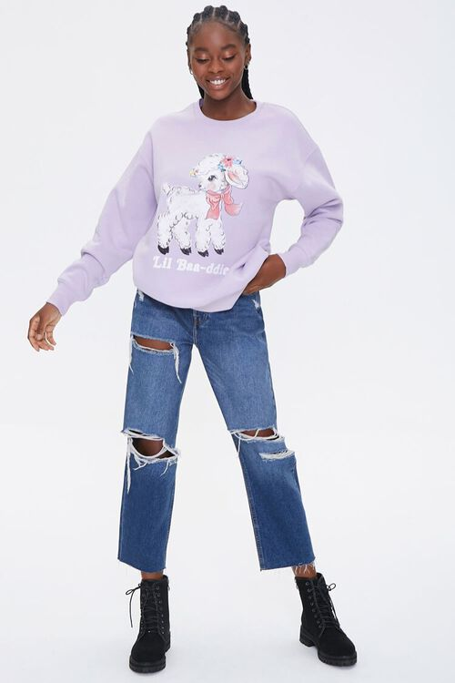 Lil Baa-ddie Graphic Pullover, image 4
