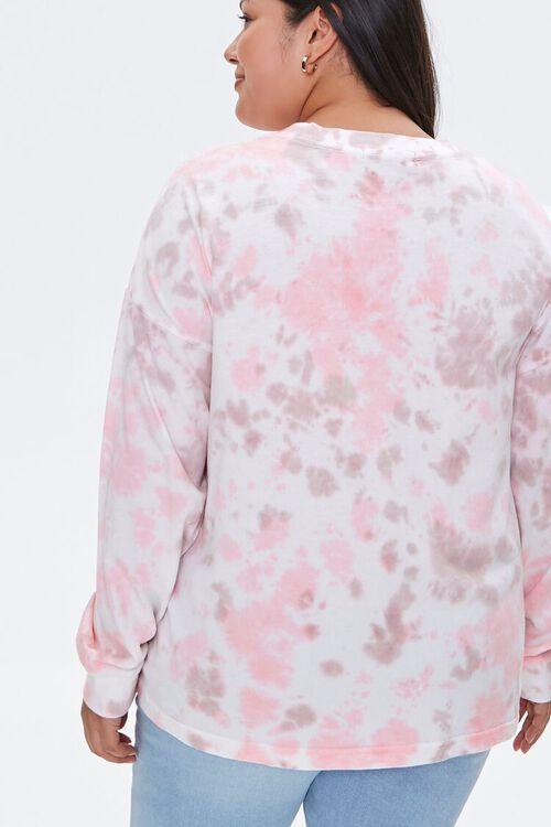 Plus Size Tie-Dye Wash Top, image 3