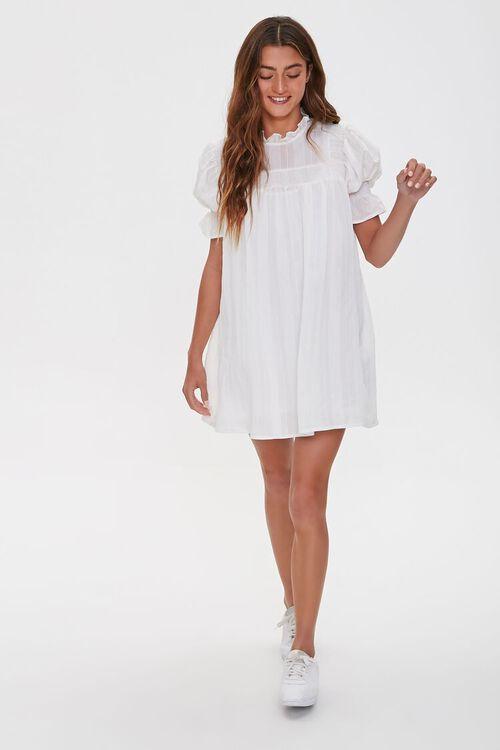Ruffled Puff Sleeve Dress, image 4