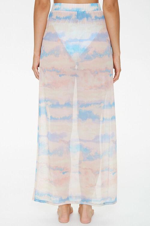 Cloud Wash Mesh Swim Cover-Up Skirt, image 4