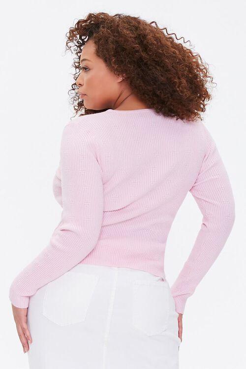 Plus Size Ribbed Sweater, image 3