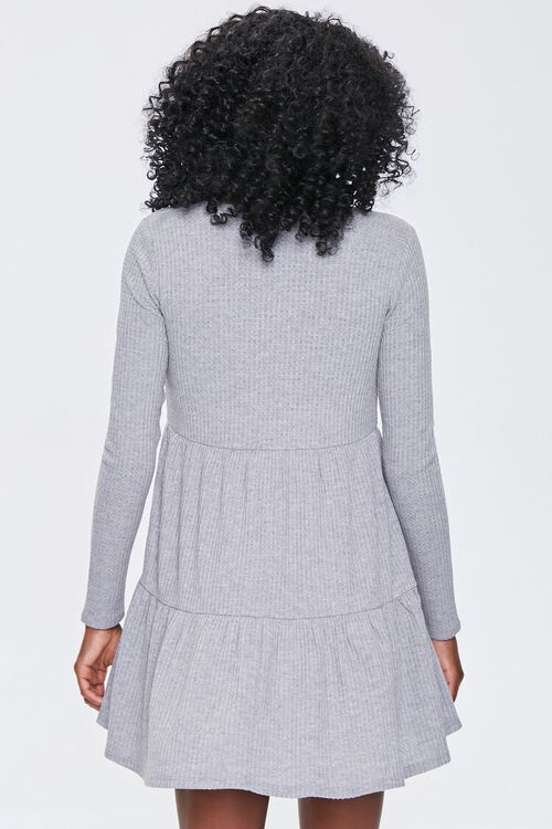Ribbed Knit Mini Dress, image 3