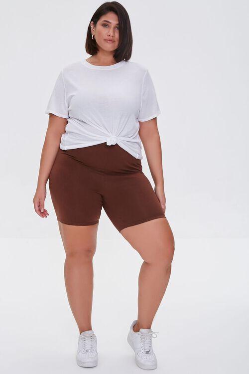 Plus Size Organically Grown Cotton Biker Shorts, image 5