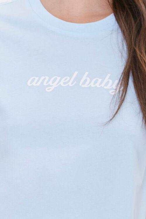 BLUE Angel Baby Graphic Sleep Set, image 4