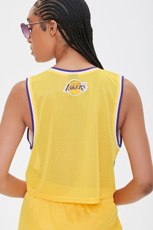 Los Angeles Lakers Cropped Jersey, image 3
