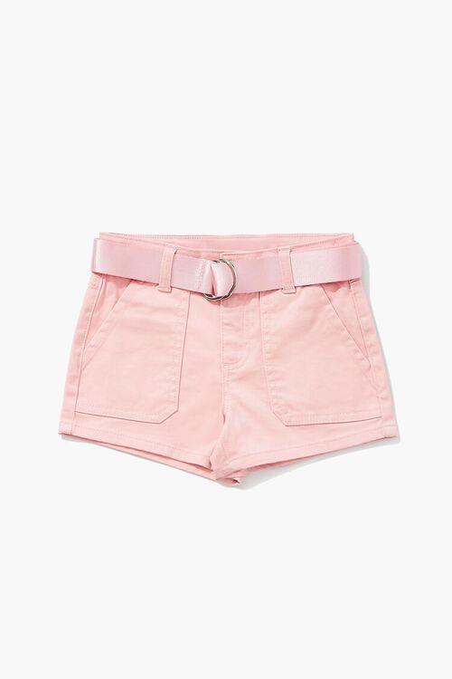 Girls Patch-Pocket Shorts (Kids), image 1