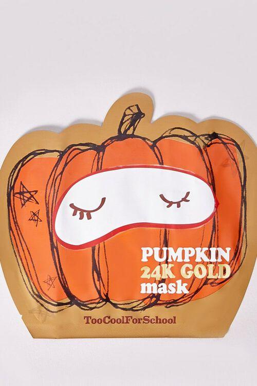 Pumpkin 24K Gold Mask, image 1