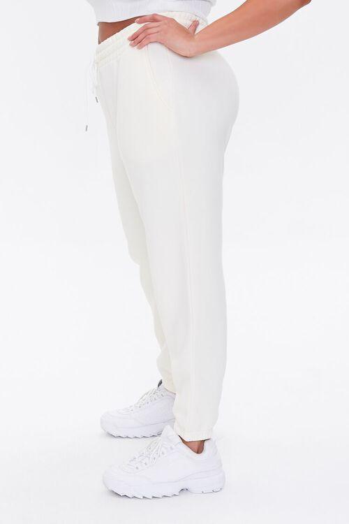 Plus Size Fleece Drawstring Joggers, image 3