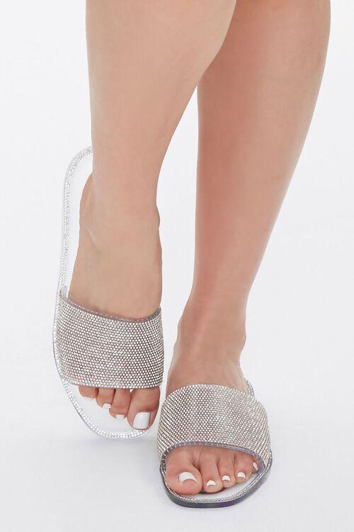 Rhinestone Jelly Sandals, image 4