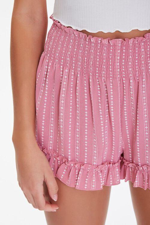 Ornate Ruffle-Trim Shorts, image 5