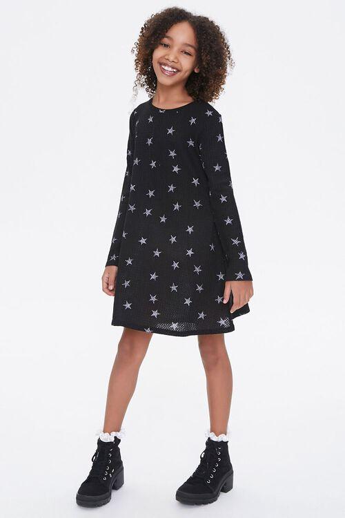 Girls Star Print Dress (Kids), image 4