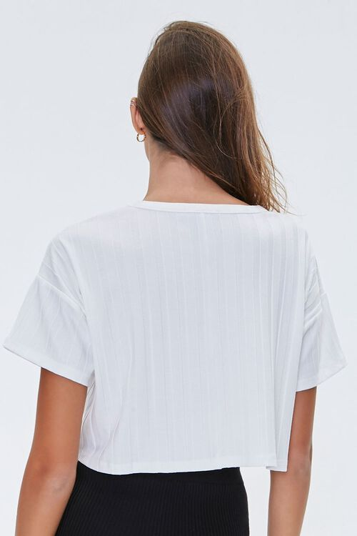 Wide-Rib Cropped Tee, image 3