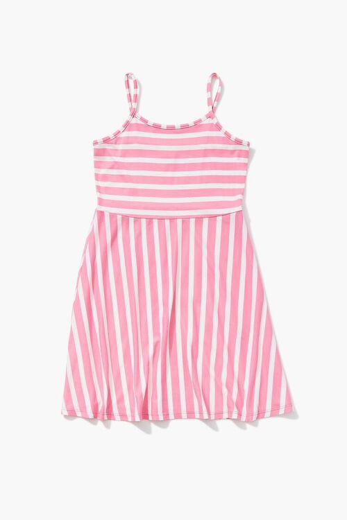 Girls Striped Cami Dress (Kids), image 1