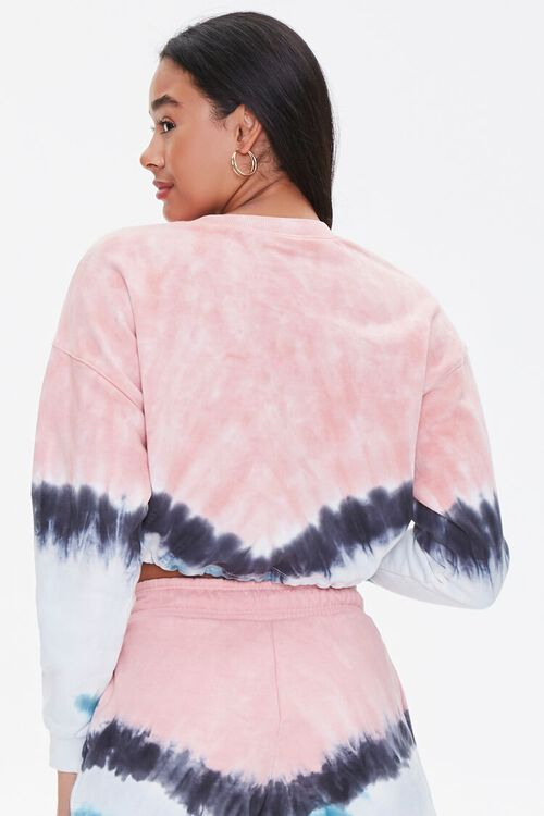 Tie-Dye Fleece Pullover, image 3