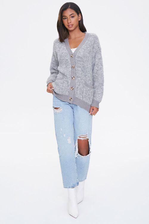Brushed Cardigan Sweater, image 4