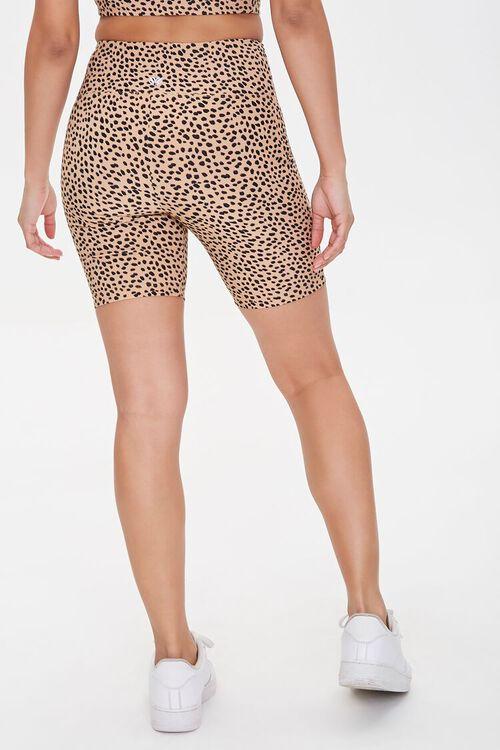 Active Cheetah Print Biker Shorts, image 4