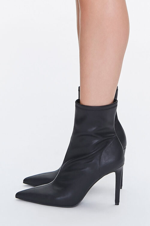 Stiletto Sock Booties, image 2