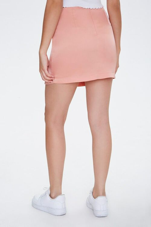 Satin Mini Skirt, image 4