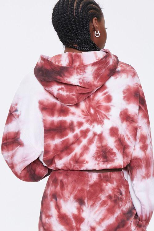 Tie-Dye Cropped Hoodie, image 3