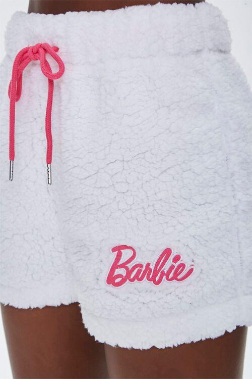 Faux Shearling Barbie™ Shorts, image 6