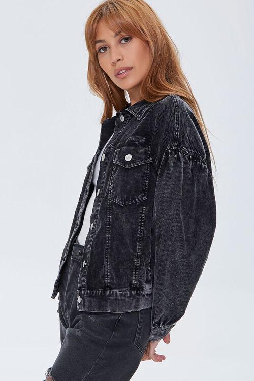 Corduroy Button-Front Jacket, image 2