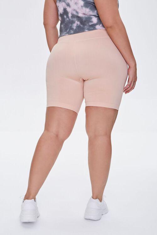 BLUSH Plus Size Active Biker Shorts, image 4