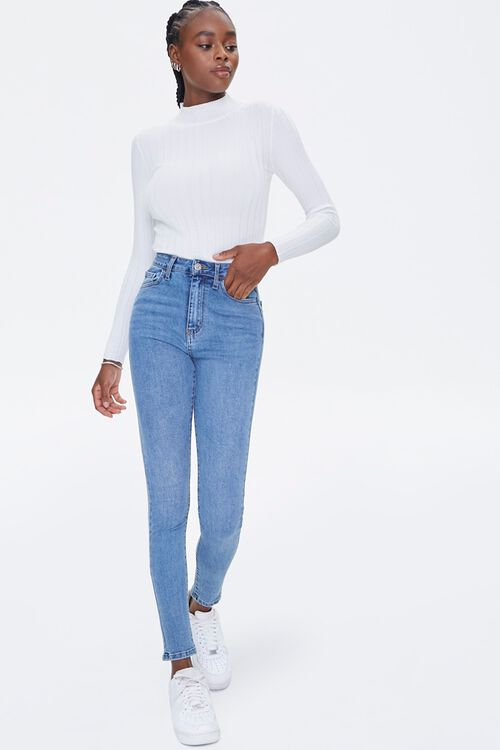 High-Rise Skinny Jeans, image 1
