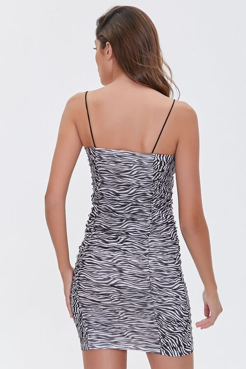 Zebra Print Bodycon Dress, image 3