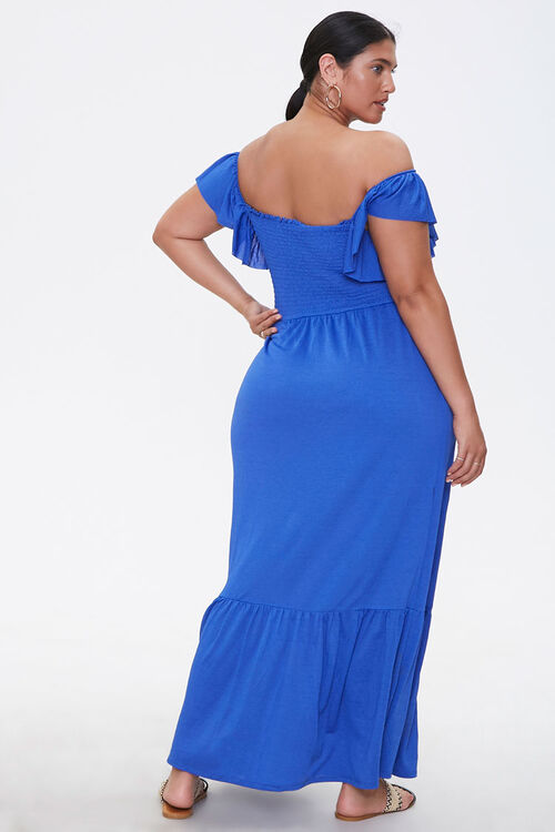 Plus Size Off-the-Shoulder Dress, image 3