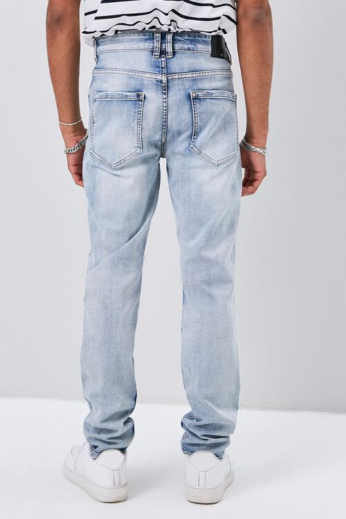 Distressed Slim-Fit Jeans, image 4