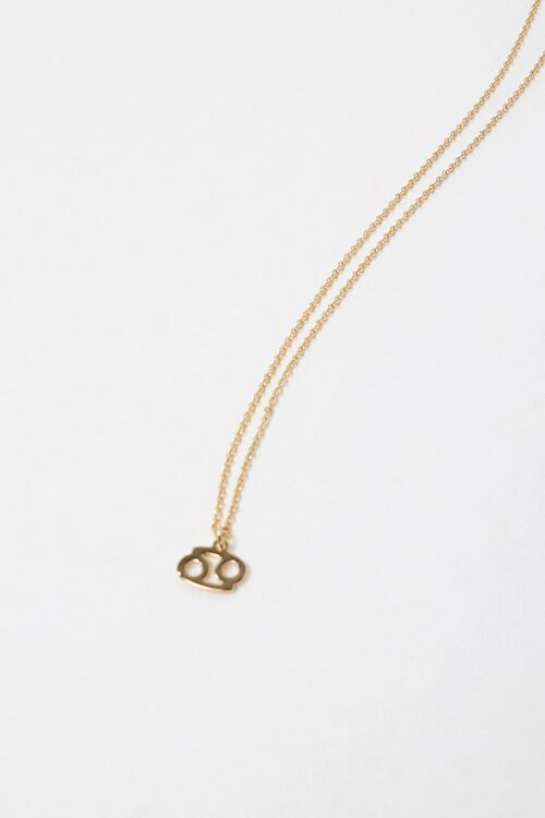 Cancer Charm Necklace, image 1