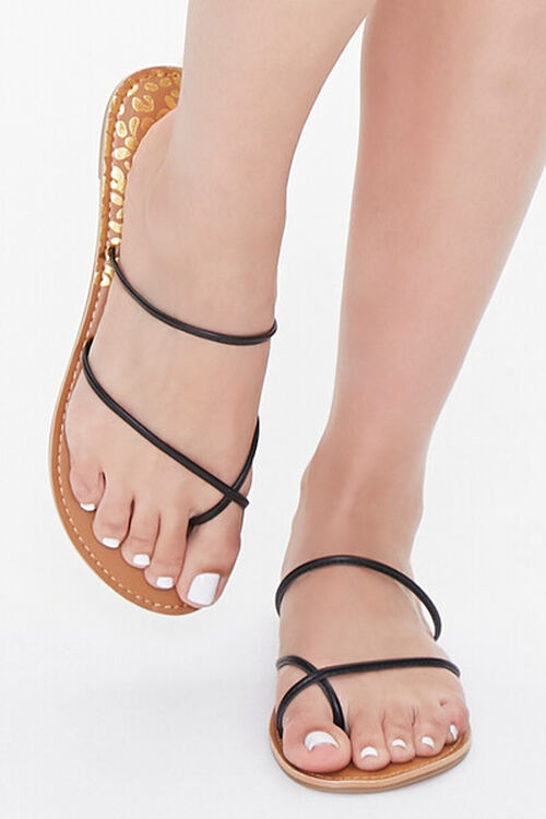 Strappy Toe-Ring Sandals, image 4