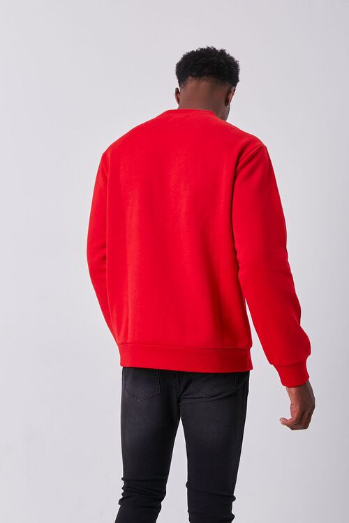 RED/MULTI Embroidered Dancer Graphic Pullover, image 3