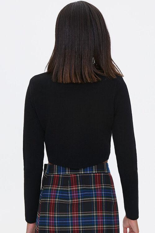 Cropped Mock Neck Sweater, image 3