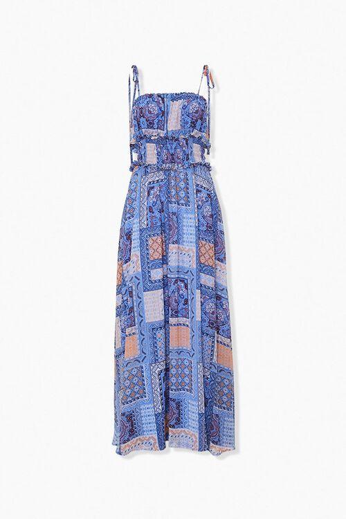 Ornate Patchwork Maxi Dress, image 1