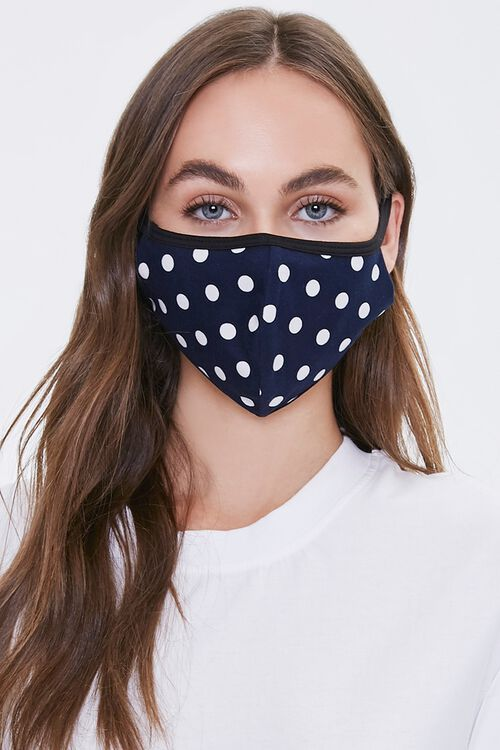 Polka Dot Face Mask, image 1