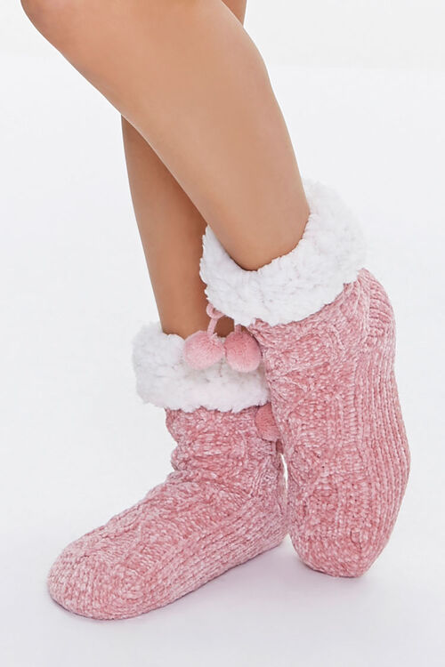 Pom Pom Indoor Slippers, image 1